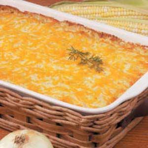 Sweet Onion Corn Bake Recipe
