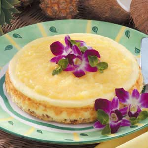 Hawaiian Cheesecake Recipe