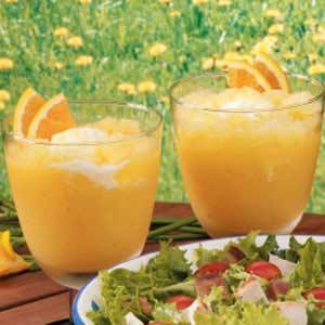 Orange Cream Slush Recipe