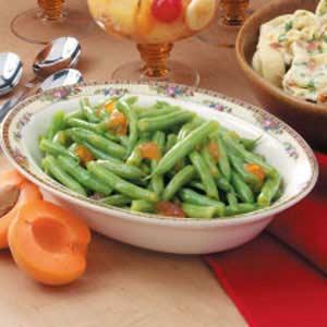 Apricot-Glazed Green Beans Recipe