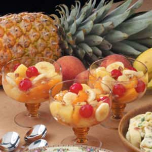 Peachy Fruit Medley Recipe