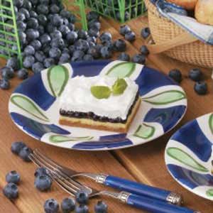 Blueberry Cream Dessert Recipe
