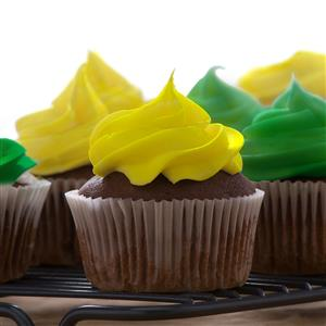"DC Cupcakes Chocolate & Buttercream ""Puppy Bowl"" Cupcakes Recipe"