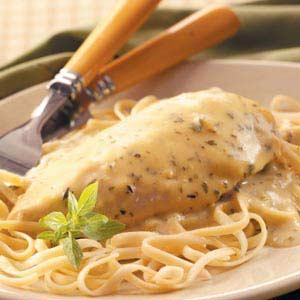 Creamy Herbed Chicken Recipe