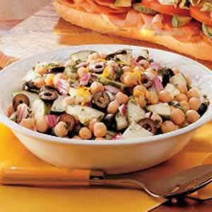 Garbanzo Cucumber Salad Recipe