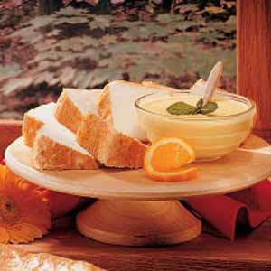 Orange Sauce For Angel Food Cake Recipe Taste Of Home