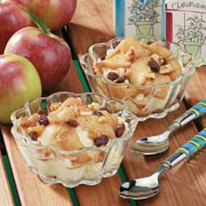 Warm Apple Topping Recipe