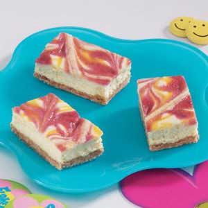 Tie-Dyed Cheesecake Bars Recipe