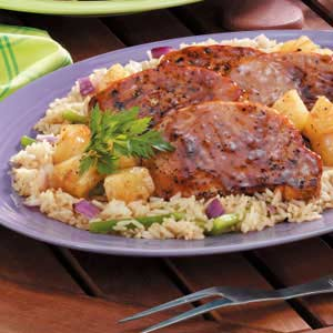 Aloha Pork Chops Recipe