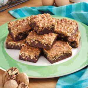 Fudgy Walnut Brownies Recipe