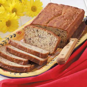 Sour cream banana bread recipe taste of home sour cream banana bread recipe forumfinder Image collections