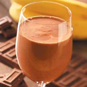 Chocolate Banana Smoothies Recipe