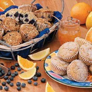 Citrus Pecan Muffins Recipe