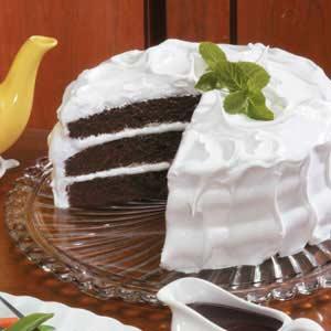 Mahogany Devil's Food Cake Recipe