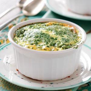 Pressure Cooked Broccoli Egg Cups Recipe