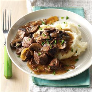 Pressure Cooker Beef Tips Recipe