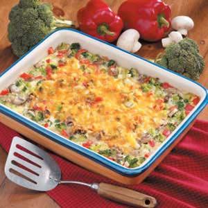 Broccoli Rice Hot Dish Recipe