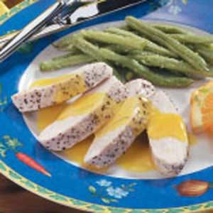 Turkey with Orange Sauce Recipe