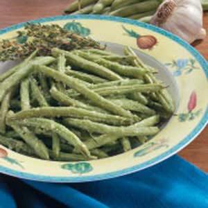 Roasted Ginger Green Beans Recipe