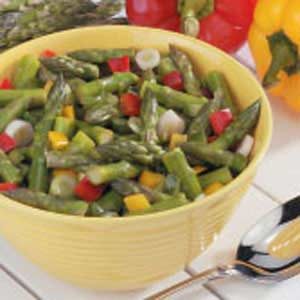 Asparagus Pepper Salad Recipe