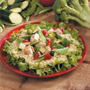 Sesame Chicken Couscous Salad Recipe
