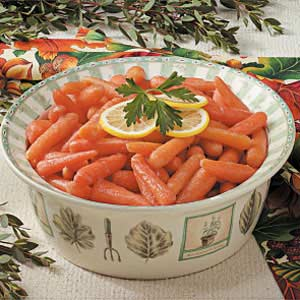 Glazed Cranberry Carrots Recipe