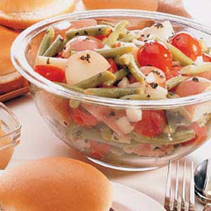 Potato Salad with Green Beans and Tomatoes Recipe