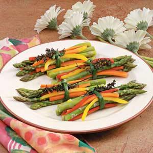 Spring Vegetable Bundles Recipe