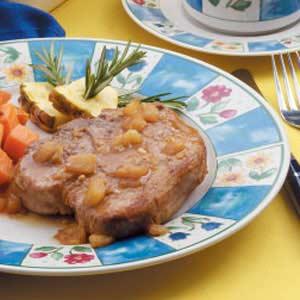 Pineapple Pork Chops Recipe