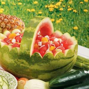 Watermelon Ambrosia Recipe