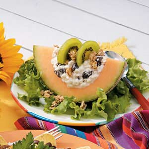 Cottage Cheese Cantaloupe Salad Recipe