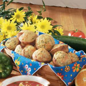Spinach Corn Muffins Recipe