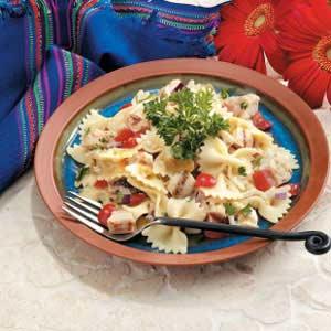 Chicken Bow Tie Salad Recipe