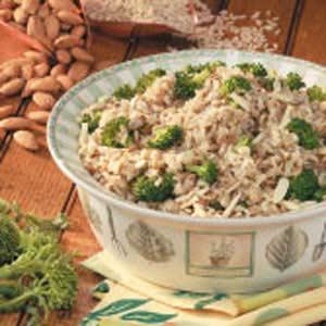 Broccoli Brown Rice Pilaf Recipe