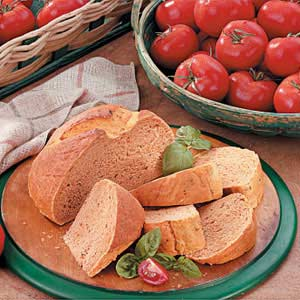 Tomato Basil Bread Recipe