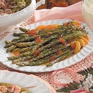 Apricot-Ginger Asparagus Recipe