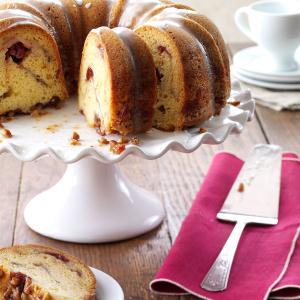 Cranberry Bundt Cake Recipe