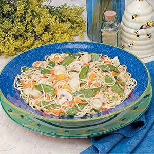 Mandarin Pasta Salad Recipe