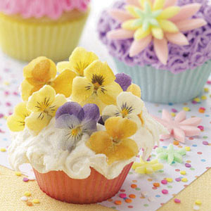 Posy Cupcakes Recipe