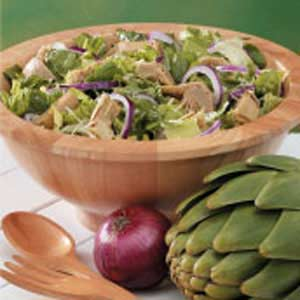 Tossed Salad with Artichokes Recipe