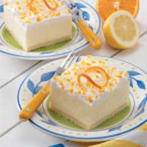 Lemon Icebox Dessert Recipe
