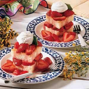 Mom's Strawberry Shortcake Recipe