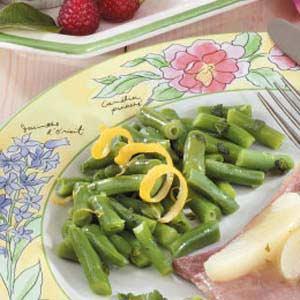 Lemon Mint Beans Recipe