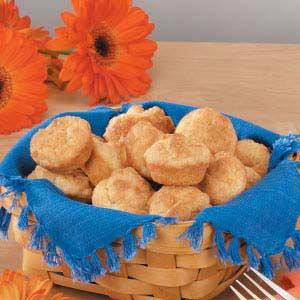 Mini Sour Cream Biscuits Recipe