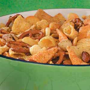 Cracker Snack Mix Recipe