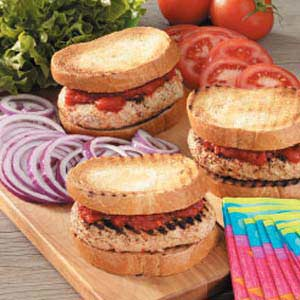 Italian Turkey Burgers Recipe