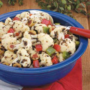 Cauliflower Olive Salad Recipe