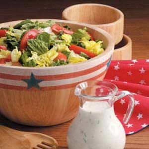 Parmesan Salad Dressing Recipe