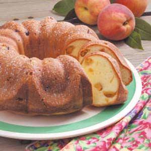 Peach Pound Cake Recipe