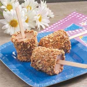 Almond Fudge Pops Recipe